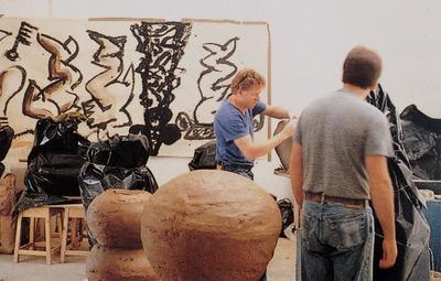 Large w ceramistas americanos 1988 chris gustin e atnold zimmerman