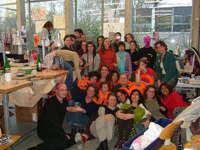 Large 2007 visita estudo rietveld 1