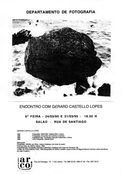 Large a encontro com gerard castello lopes 1995