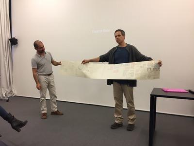Large conversa com fot grafo duarte belo  ar.co xabregas  jun 2018.