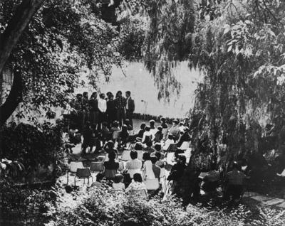 Large grupo de recolha de musica popular1977