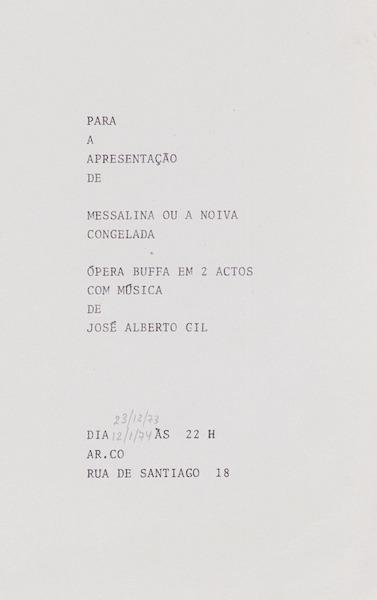 Large large jos  alberto gil  pera buffa 1974