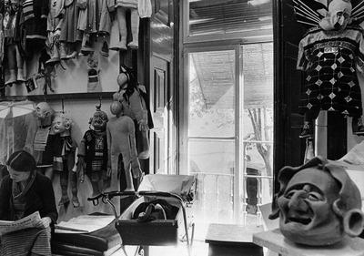 Large grupo de teatro de marionetas de s. louren o e o diabo   1976